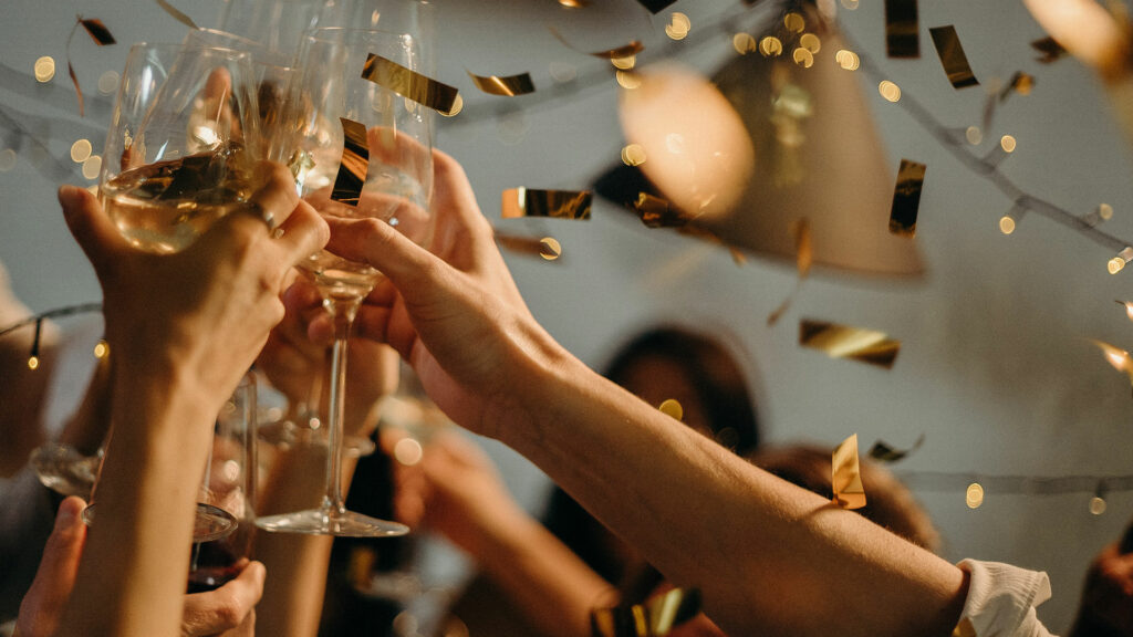 New Year's Eve celebration at Woodloch