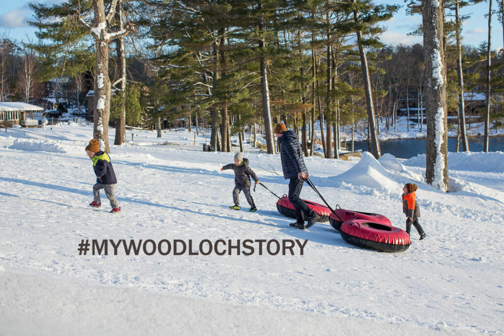 # my woodloch story winter photo